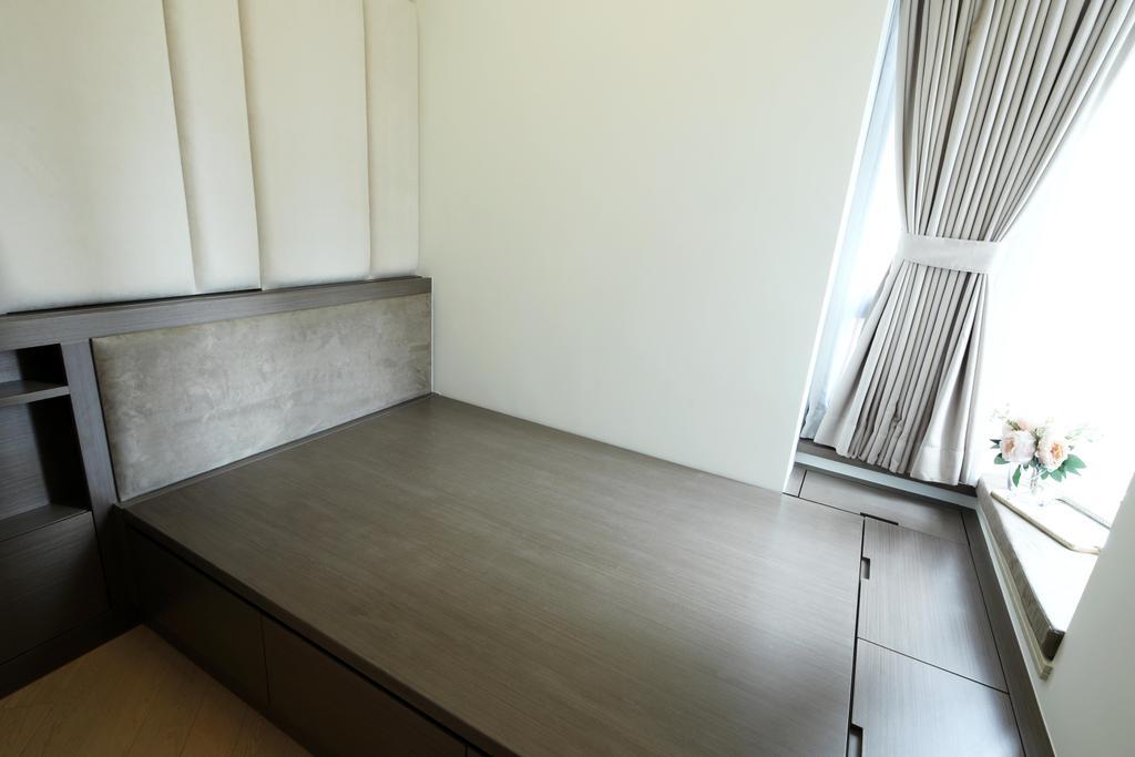 簡約, 私家樓, 睡房, 元朗Grand YOHO, 室內設計師, Magis Design Studio