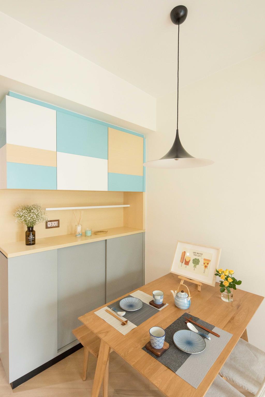 簡約, 私家樓, 飯廳, 啟德一號, 室內設計師, Magis Design Studio, 北歐
