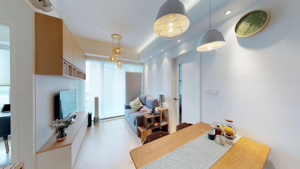 簡約, 私家樓, 客廳, 將軍澳SAVANNAH, 室內設計師, Magis Design Studio, 北歐