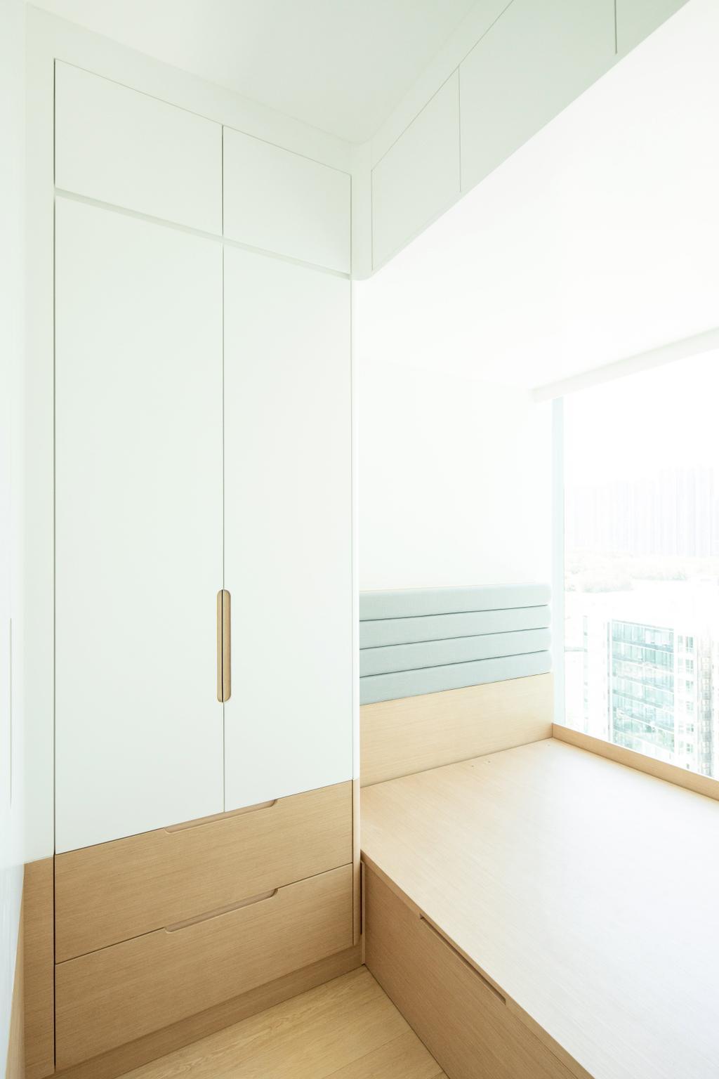 簡約, 私家樓, 睡房, 將軍澳SAVANNAH, 室內設計師, Magis Design Studio, 北歐