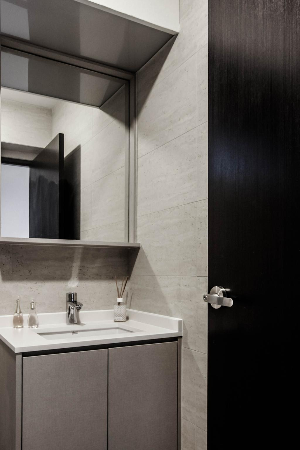 Contemporary, HDB, Bathroom, Bukit Batok West Avenue 6, Interior Designer, Icon Interior Design