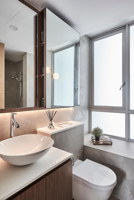 Contemporary, Condo, Bathroom, One Amber, Interior Designer, Icon Interior Design