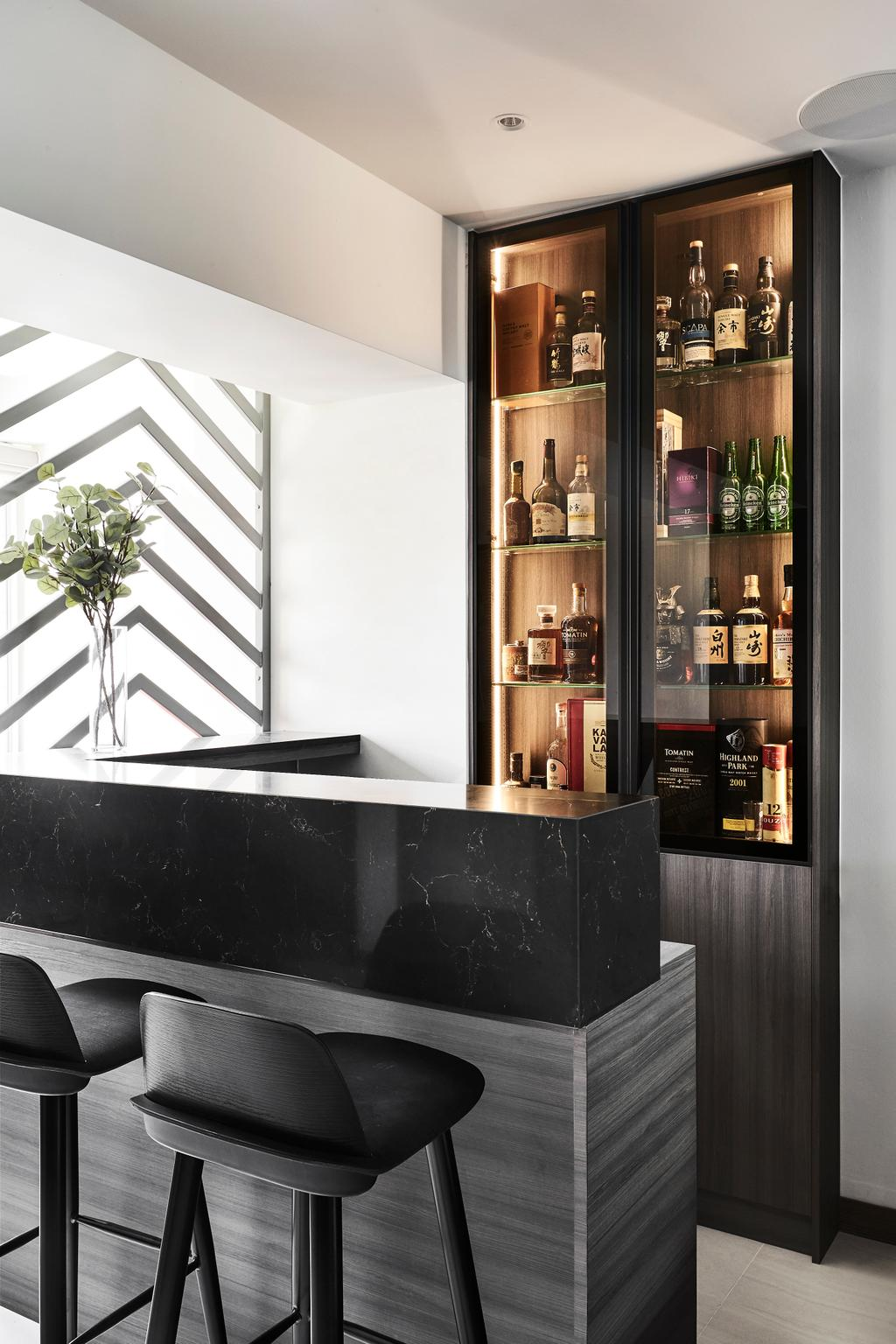 Contemporary, HDB, Hougang Street 22, Interior Designer, Icon Interior Design