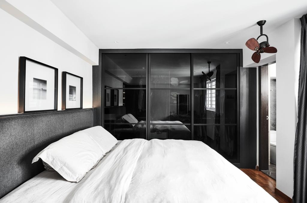 Contemporary, HDB, Bedroom, Hougang Street 22, Interior Designer, Icon Interior Design