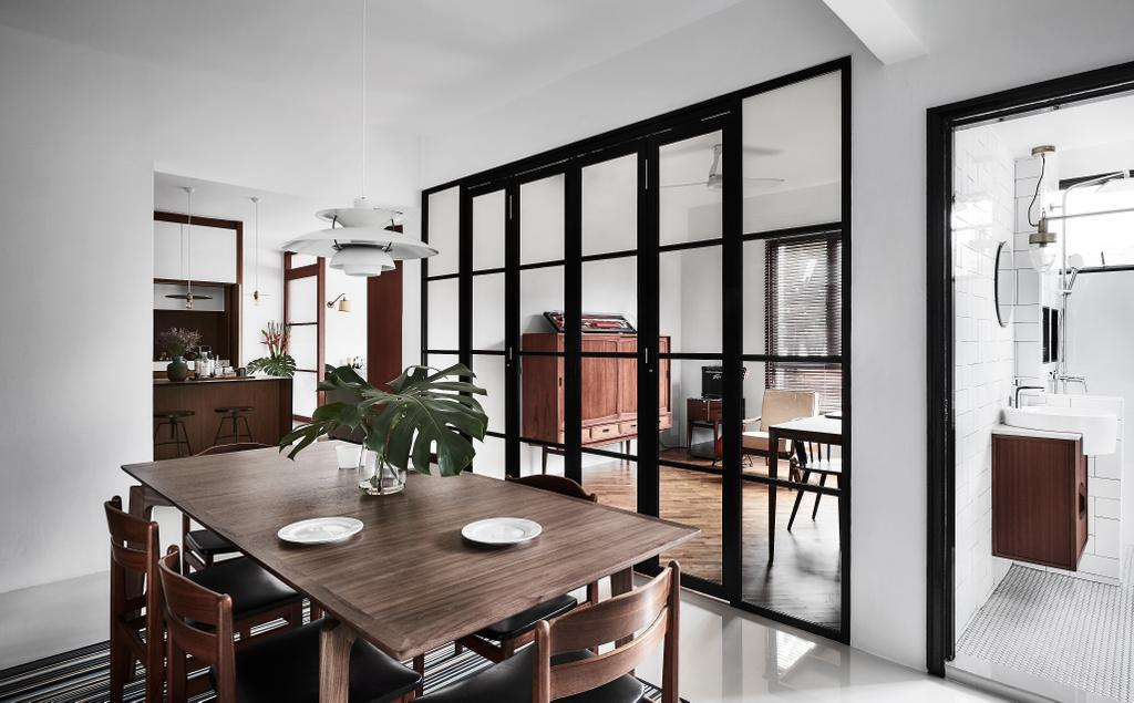 Contemporary, Condo, Dining Room, Flame Tree Park, Interior Designer, Icon Interior Design