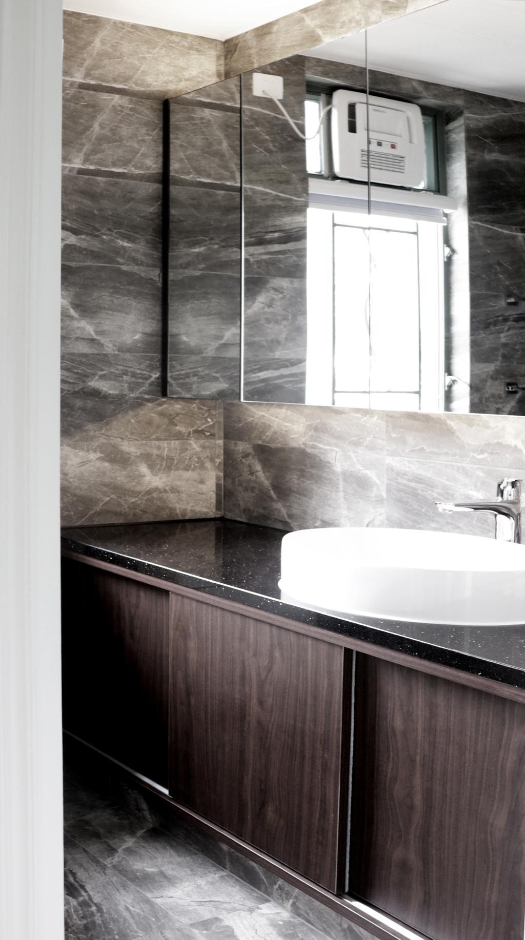 摩登, 私家樓, 浴室, 帝華軒, 室內設計師, 卓天設計