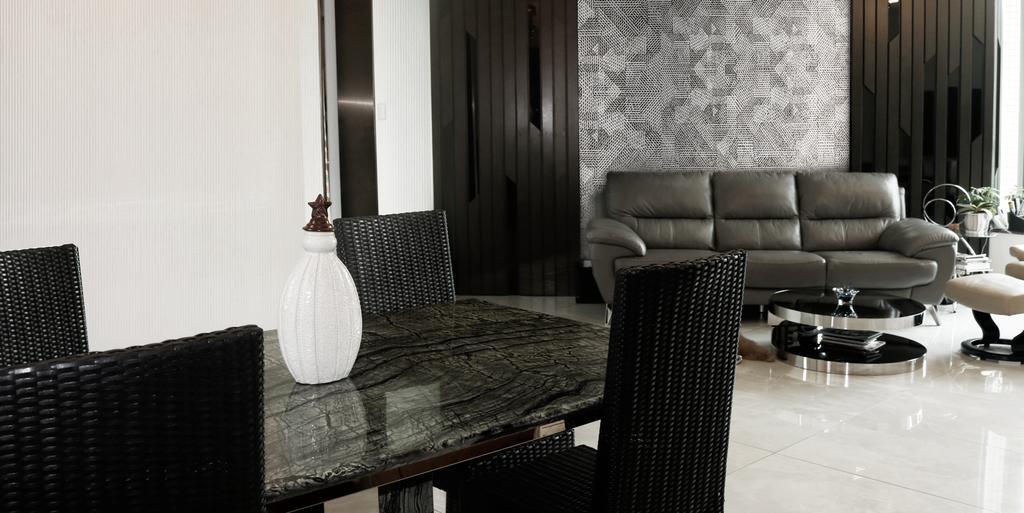 摩登, 私家樓, 客廳, 帝華軒, 室內設計師, 卓天設計