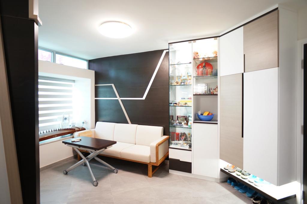 簡約, 公屋/居屋, 客廳, 叠翠軒, 室內設計師, 和生設計, 北歐