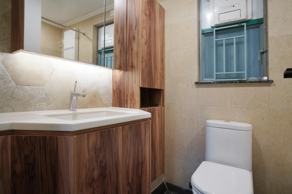 工業, 私家樓, 浴室, 維景灣畔, 室內設計師, 和生設計