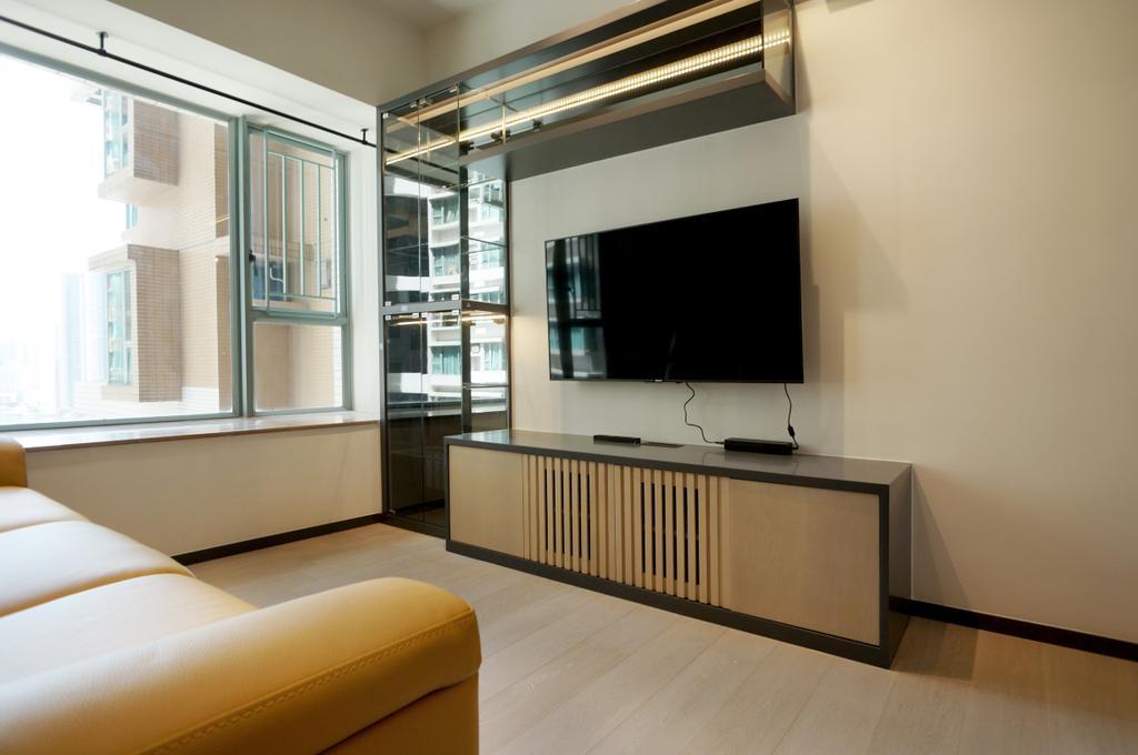 工業, 私家樓, 客廳, 維景灣畔, 室內設計師, 和生設計