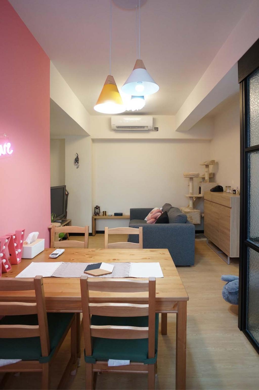 北歐, 私家樓, 飯廳, 旺角唐樓, 室內設計師, 和生設計