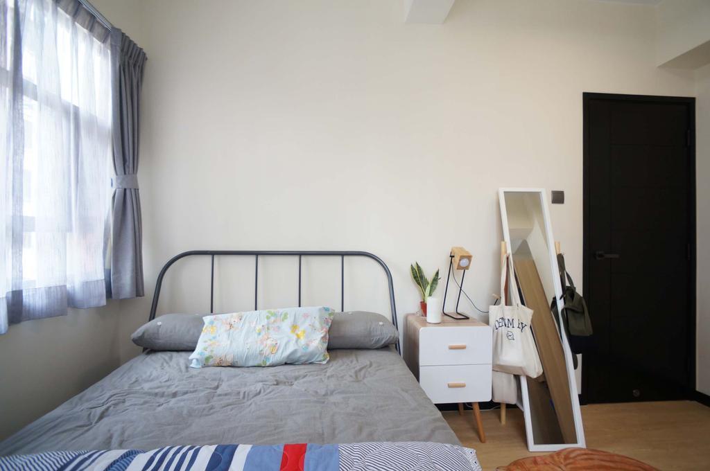 北歐, 私家樓, 睡房, 旺角唐樓, 室內設計師, 和生設計