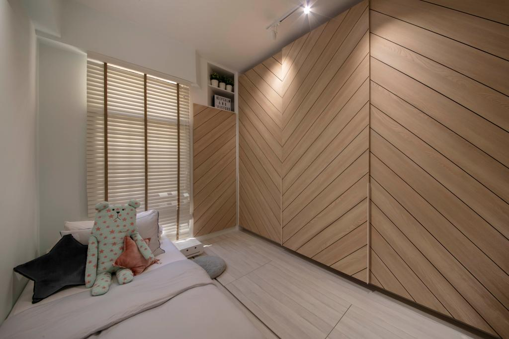 Contemporary, Condo, Bedroom, Dover Parkview, Interior Designer, Space Atelier, Scandinavian