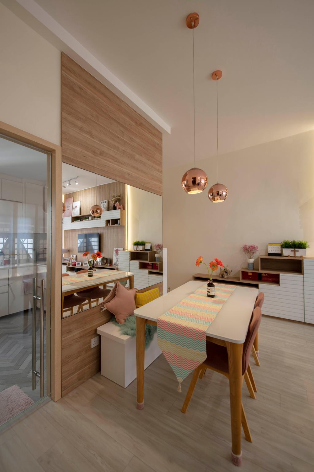 Contemporary, Condo, Dining Room, Dover Parkview, Interior Designer, Space Atelier, Scandinavian