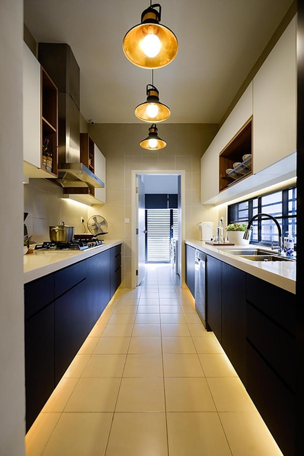 Contemporary, Landed, Kitchen, Cahaya Alam @ Shah Alam, Interior Designer, Torch Empire