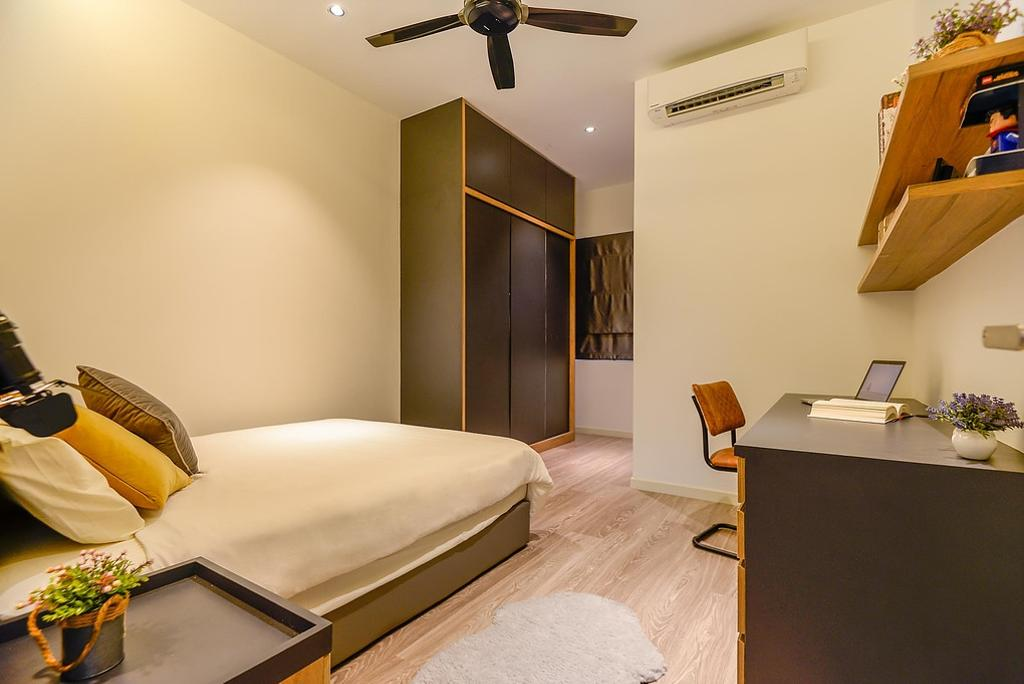 Contemporary, Landed, Bedroom, Cahaya Alam @ Shah Alam, Interior Designer, Torch Empire