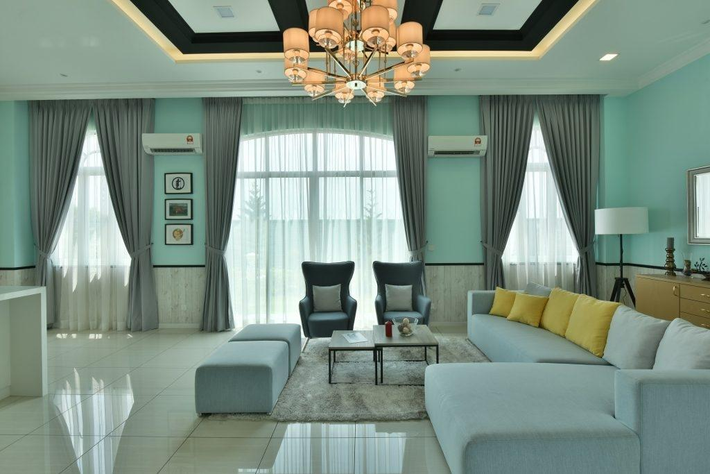 Transitional, Landed, Living Room, Setia Eco Park Type A2, Interior Designer, Nice Style Refurbishment, Eclectic