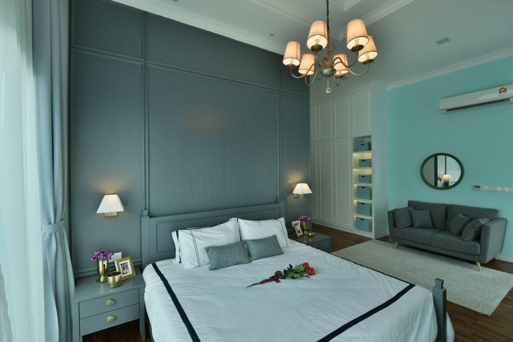 Transitional, Landed, Bedroom, Setia Eco Park Type A2, Interior Designer, Nice Style Refurbishment, Eclectic