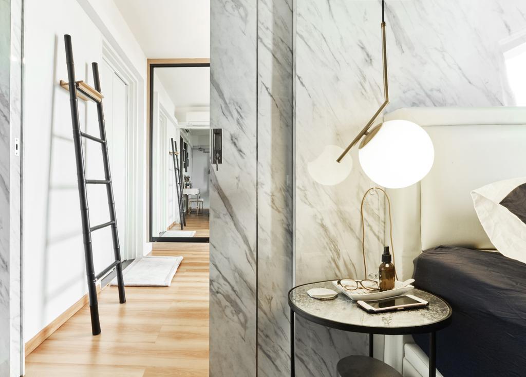 Contemporary, HDB, Bedroom, Havelock Road, Interior Designer, Rockin Spaces