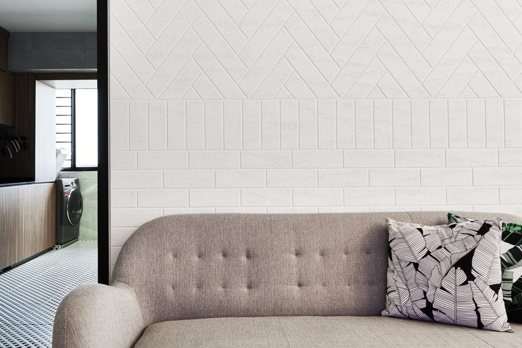 Contemporary, HDB, Living Room, Havelock Road, Interior Designer, Rockin Spaces