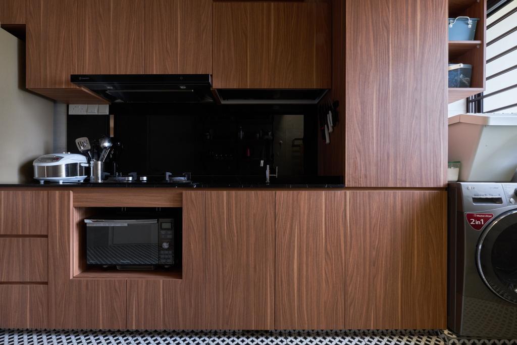 Contemporary, HDB, Kitchen, Havelock Road, Interior Designer, Rockin Spaces