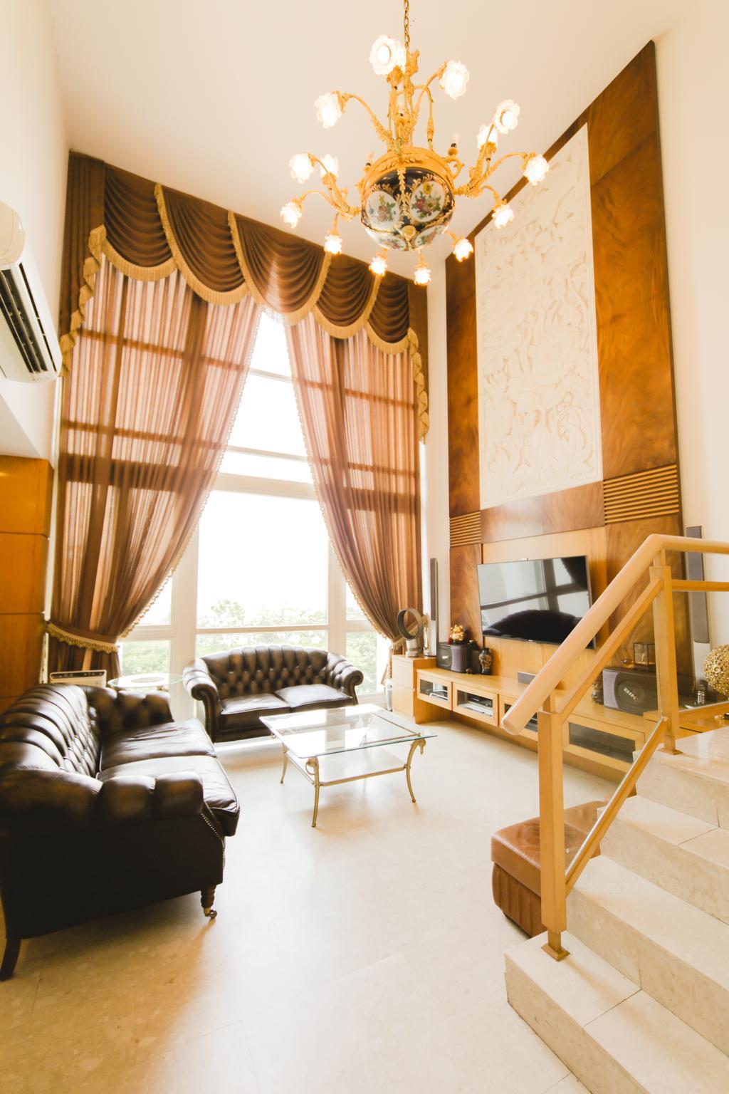 Contemporary, Condo, Living Room, Changi Rise, Interior Designer, Rockin Spaces