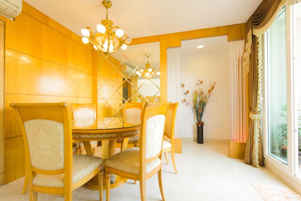 Contemporary, Condo, Dining Room, Changi Rise, Interior Designer, Rockin Spaces