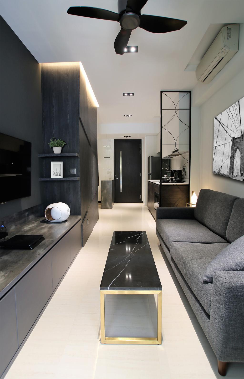 Contemporary, Condo, Living Room, Sims Urban Oasis, Interior Designer, Intrigue-d Design Consultancy
