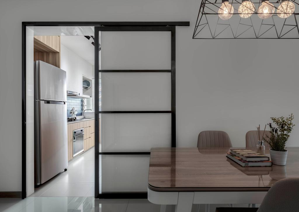 Contemporary, HDB, Dining Room, Bukit Batok West Avenue 6, Interior Designer, Ethereall