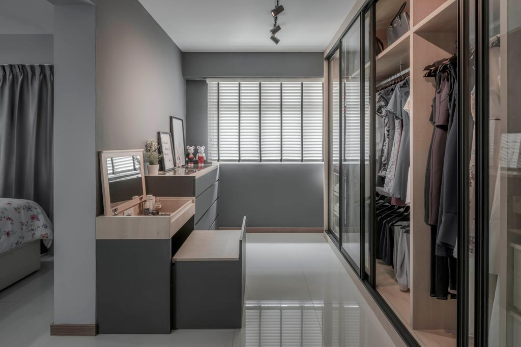 Contemporary, HDB, Bukit Batok West Avenue 6, Interior Designer, Ethereall