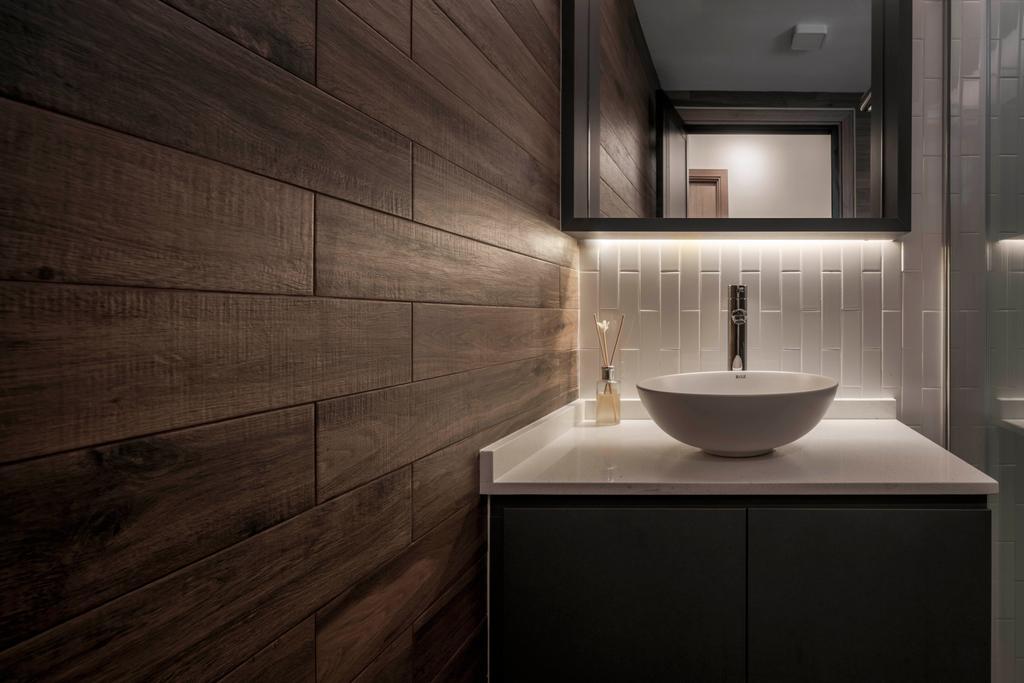 Contemporary, HDB, Bathroom, Bukit Batok West Avenue 6, Interior Designer, Ethereall