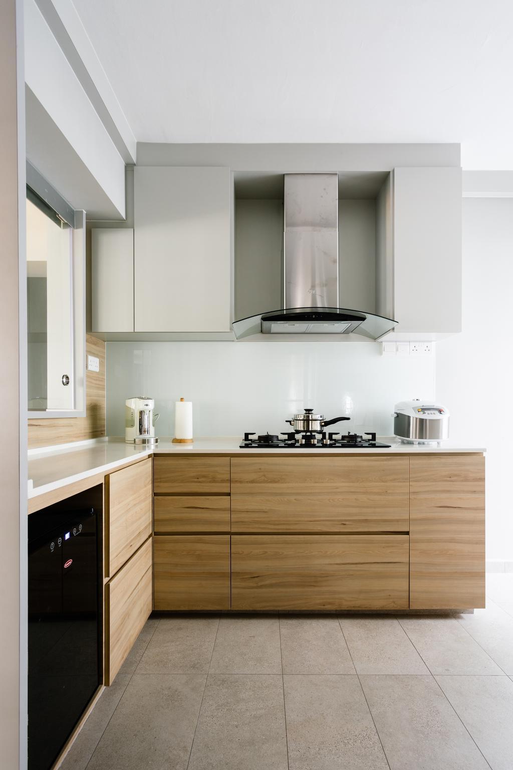 Contemporary, HDB, Kitchen, Hougang Street 31, Interior Designer, Hygge Design