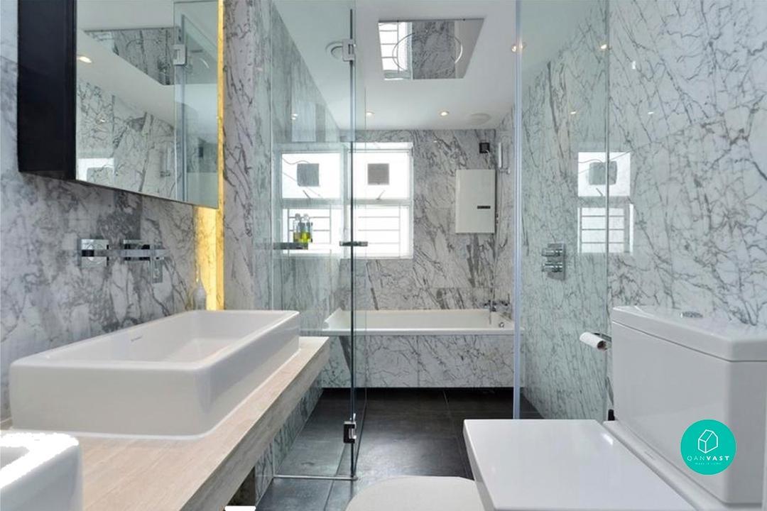 再見濕滑地板!實用浴室設計的五大秘訣 2