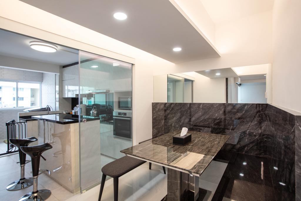 Contemporary, HDB, Dining Room, Bukit Purmei Road, Interior Designer, Starry Homestead