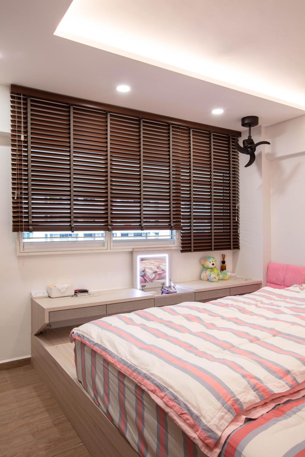Contemporary, HDB, Bedroom, Bukit Purmei Road, Interior Designer, Starry Homestead
