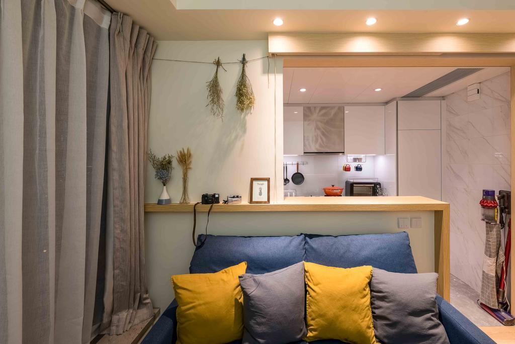 北歐, 私家樓, 客廳, Capri, 室內設計師, Deco Farmer Studio, 簡約