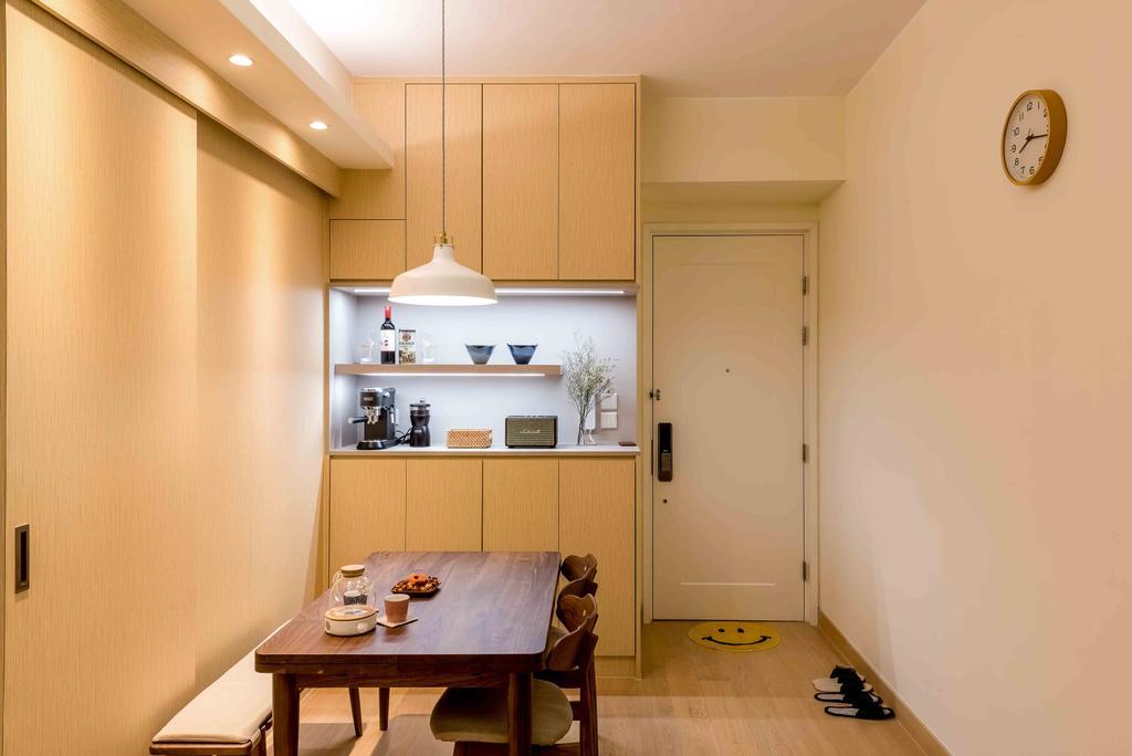 北歐, 私家樓, 飯廳, Capri, 室內設計師, Deco Farmer Studio, 簡約