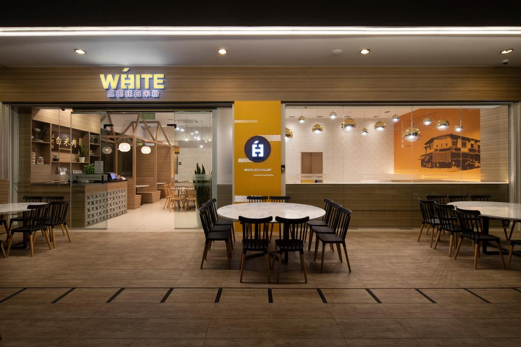 White @ Punggol Point Road, Commercial, Interior Designer, Aestherior, Minimalistic