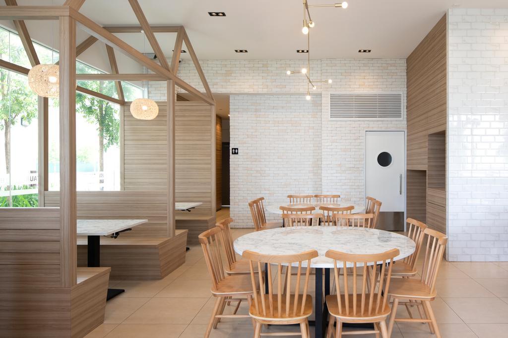 White @ Punggol Point Road, Commercial, Interior Designer, Aestherior, Minimalistic