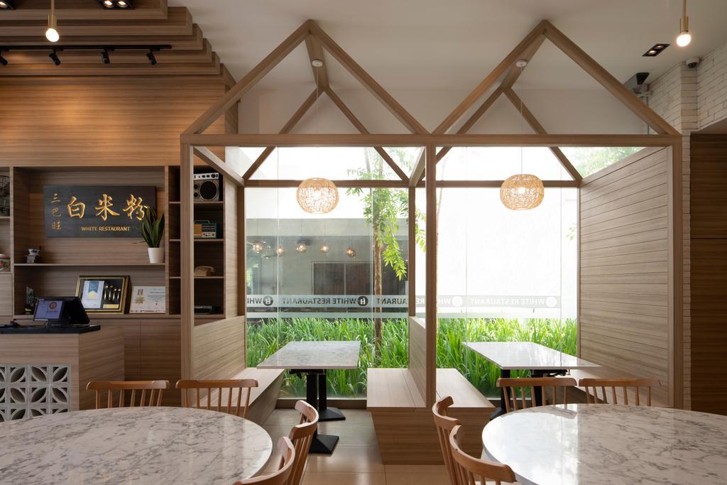 White @ Punggol Point Road, Commercial, Interior Designer, Aestherior, Minimalist
