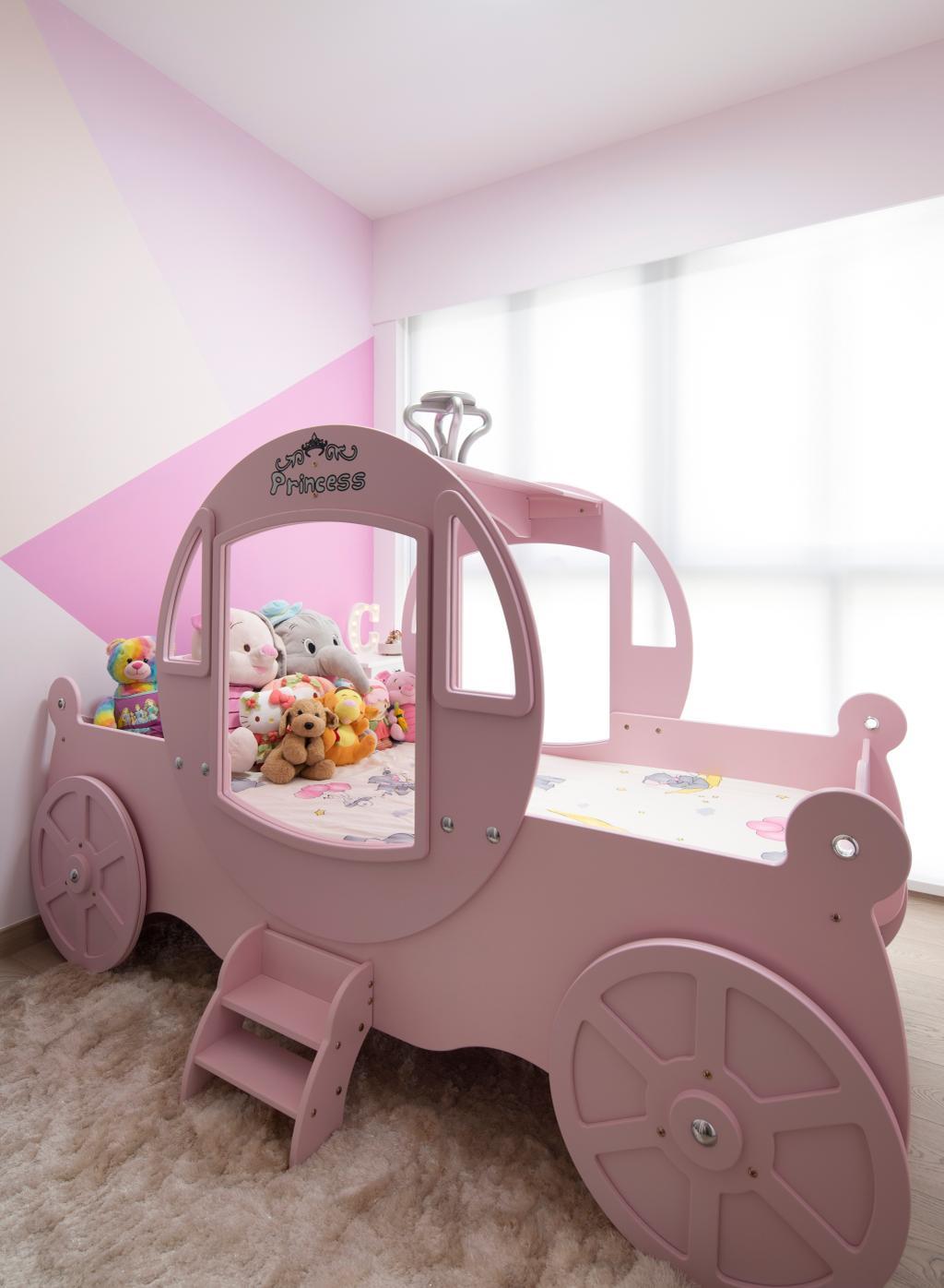Contemporary, Condo, Bedroom, Yishun Street 51, Interior Designer, Aestherior, Kids Room