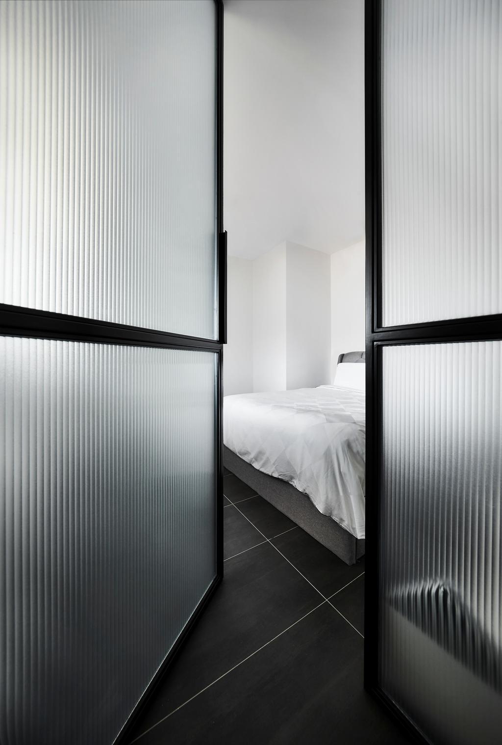 Minimalistic, Condo, Bedroom, Floraview, Interior Designer, Third Avenue Studio, Contemporary