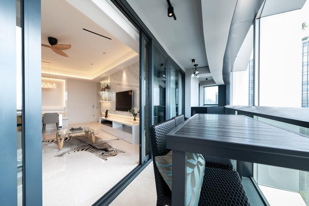 Contemporary, Condo, Balcony, Duo Residences, Interior Designer, The Orange Cube