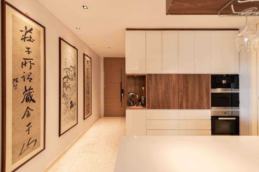 Contemporary, Condo, Duo Residences, Interior Designer, The Orange Cube