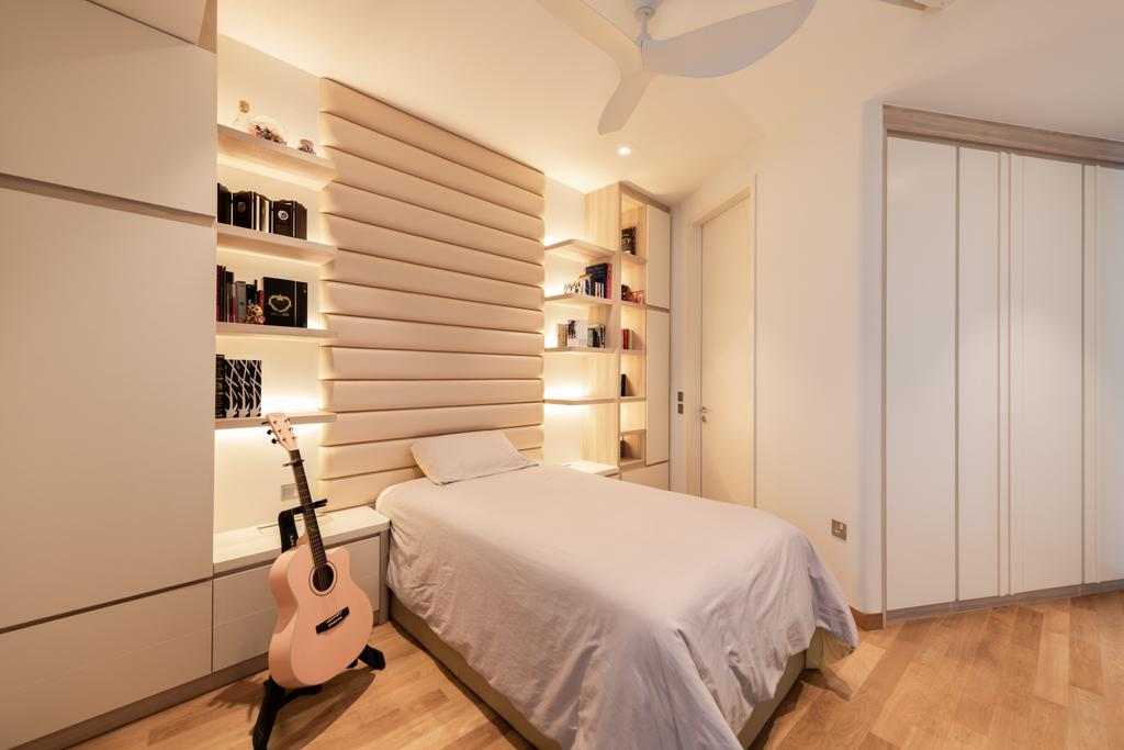 Contemporary, Condo, Bedroom, Duo Residences, Interior Designer, The Orange Cube