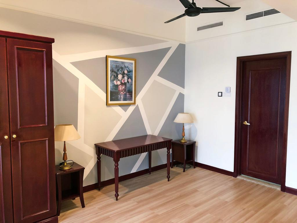 Minimalistic, Condo, Service Apartment Times Square, Interior Designer, DesignLah