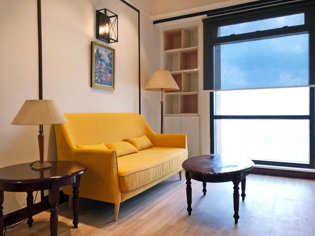 Minimalist, Condo, Service Apartment Times Square, Interior Designer, DesignLah