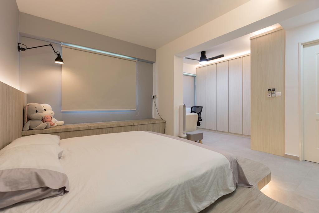 Contemporary, HDB, Bedroom, Canberra Crescent, Interior Designer, D5 Studio Image