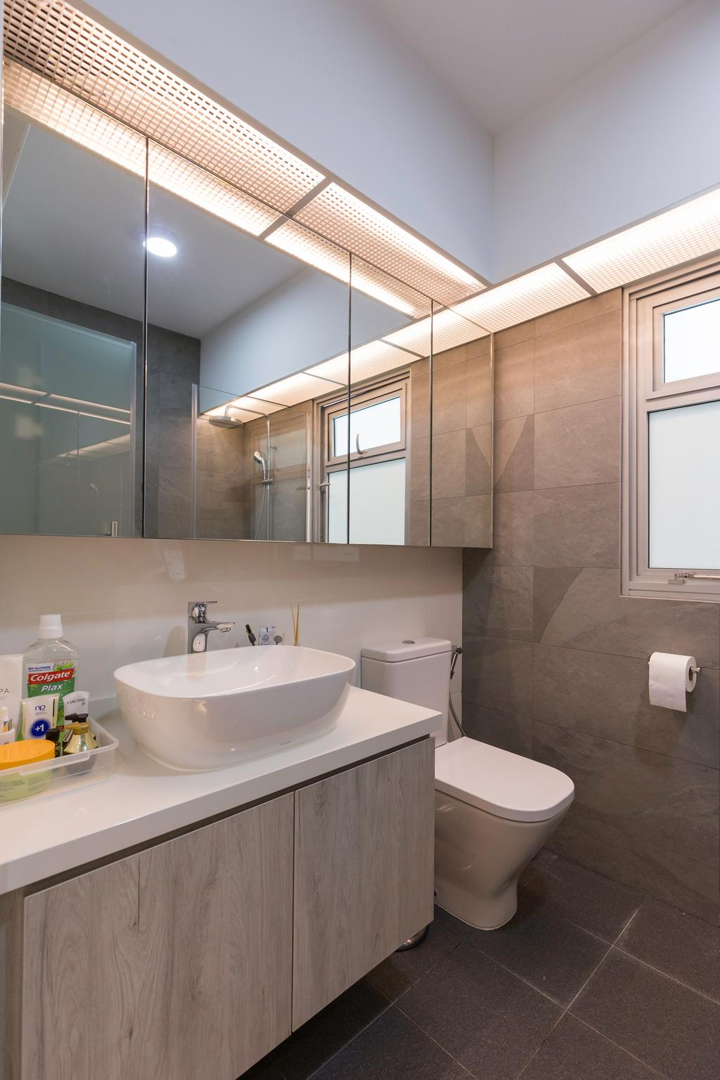 Contemporary, HDB, Bathroom, Canberra Crescent, Interior Designer, D5 Studio Image