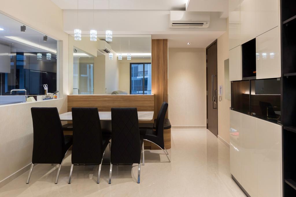 Contemporary, Condo, Dining Room, Signature @ Yishun, Interior Designer, ECasa Studio